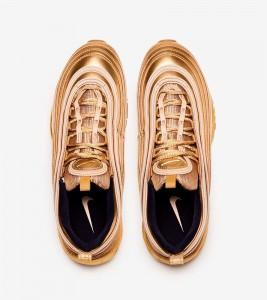 Кроссовки Nike Air Max 97 QS Gold Metal - Фото №2
