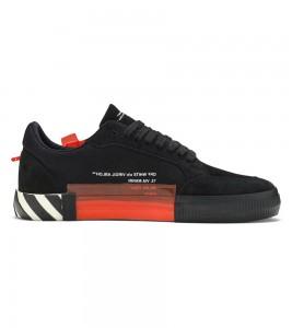 Кроссовки Off-White Vulc Sneaker Black Fuchsia 2019 - Фото №2
