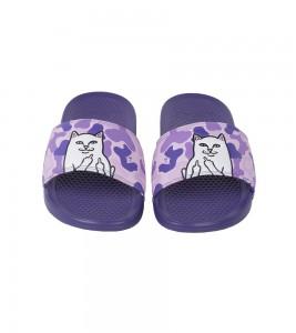 Шлепанцы RIPNDIP Lord Nermal Slides Фиолетовые #20