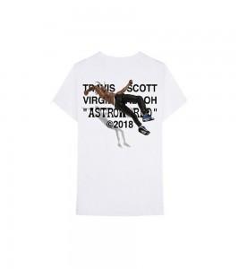 Футболка Travis Scott x Virgil Abloh By A Thread White - Фото №2