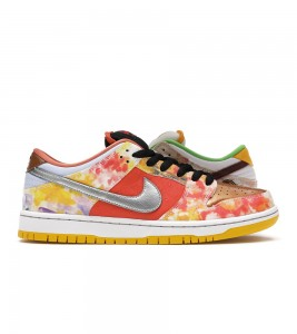 Кроссовки Nike SB Dunk Low Street Hawker 2021