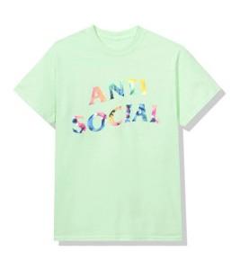 Футболка Anti Social Social Club Gemini Green - Фото №2