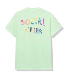 Футболка Anti Social Social Club Gemini Green