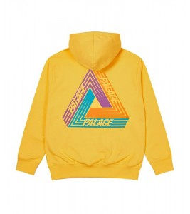 Худи Palace Tri-Dart Hood Yellow