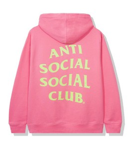 Худи Anti Social Social Club Samsies Pink