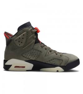 Кроссовки Travis Scott x Air Jordan 6 Retro 'Olive' - Фото №2