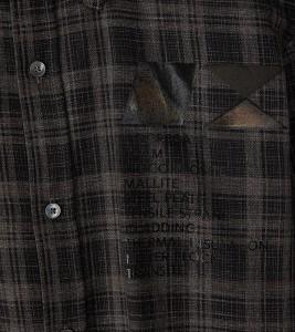 Рубашка MCQ Check Flannel Shirt - Фото №2