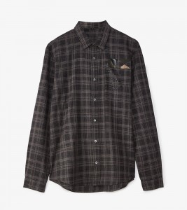 Рубашка MCQ Check Flannel Shirt