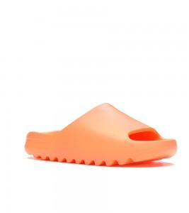Шлепки adidas Yeezy Slide Enflame Orange - Фото №2