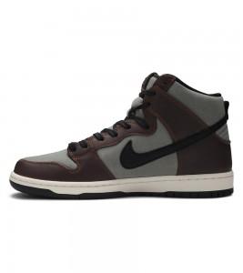 Кроссовки Nike SB Dunk High Baroque Brown - Фото №2