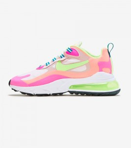 Кроссовки Nike Air Max 270 React Volt Pink
