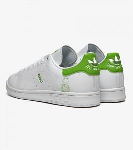 "Кроссовки Adidas Stan Smith ""Kermit The Frog"" - Фото №2"
