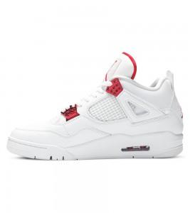 Кроссовки Air Jordan 4 Retro Metallic Red - Фото №2