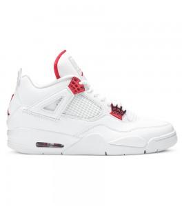 Кроссовки Air Jordan 4 Retro Metallic Red