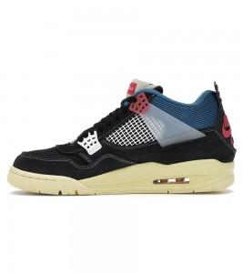 Кроссовки Air Jordan 4 x Union LA Off Noir - Фото №2