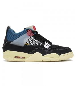 Кроссовки Air Jordan 4 x Union LA Off Noir