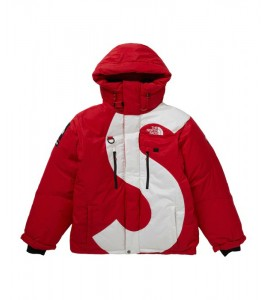 Куртка Supreme х The North Face S Logo Summit Series Himalayan Parka Red