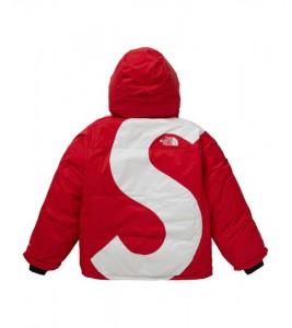 Куртка Supreme х The North Face S Logo Summit Series Himalayan Parka Red - Фото №2