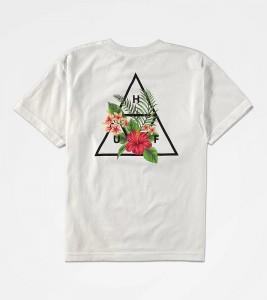 Футболка подростковая HUF Tropical White T-Shirt