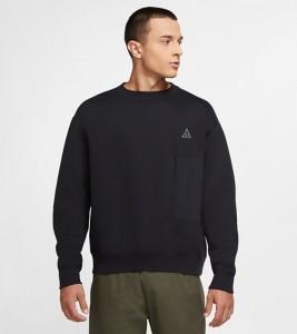 Свитшот Nike ACG Fleece Sweatshirt Black