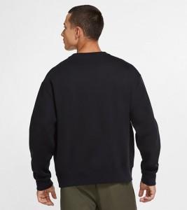 Свитшот Nike ACG Fleece Sweatshirt Black - Фото №2