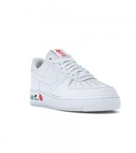 Кроссовки Nike Air Force 1 Low Rose White - Фото №2