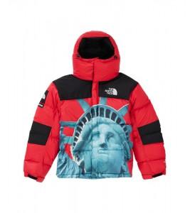 Куртка Supreme х The North Face Statue of Liberty Baltoro Jacket Red