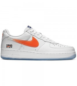 Кроссовки Kith x Nike Air Force 1 Low NYC White