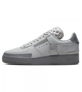 Кроссовки Nike Air Force 1 Type Grey Fog