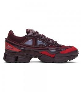 Кроссовки adidas by Raf Simons Ozweego 3 Burgundy - Фото №2