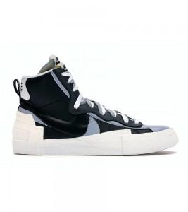 Кроссовки Nike Blazer Mid sacai Black Grey