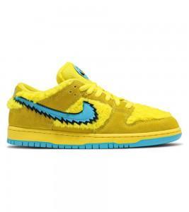 Кроссовки Grateful Dead x Nike SB Dunk Low Yellow Bear