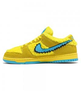 Кроссовки Grateful Dead x Nike SB Dunk Low Yellow Bear - ???? ?20