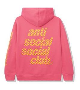 Худи Anti Social Social Club Food Court Pink