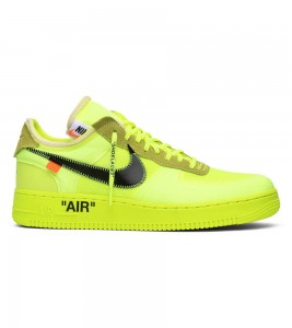 Кроссовки Off-White x Nike Air Force 1 Low Volt
