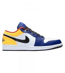 Кроссовки Air Jordan 1 Low Royal Yellow