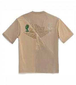 Футболка Travis Scott Cactus Jack x Jordan T-Shirt Khaki/Desert - Фото №2