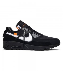 Кроссовки Off-White x Nike x Nike Air Max 90 Black