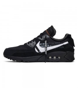 Кроссовки Off-White x Nike x Nike Air Max 90 Black - Фото №2