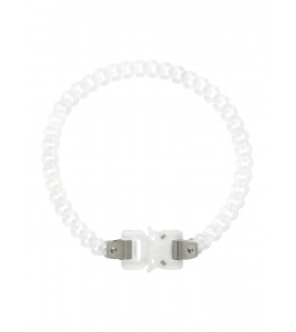Цепочка 1017 ALYX 9SM Transparent Chain Buckle Necklace 43см