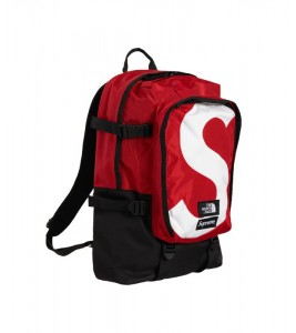 Рюкзак Supreme х The North Face S Logo Expedition Backpack Red - Фото №2