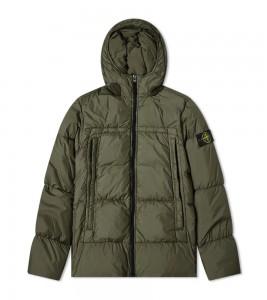 Куртка Stone Island Crinkle Reps Jacket Green