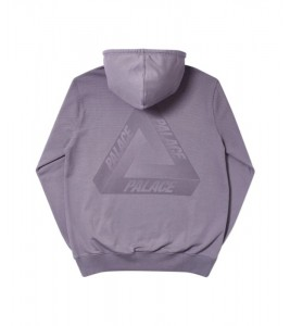 Худи Palace Tri-Fade Hood Grey