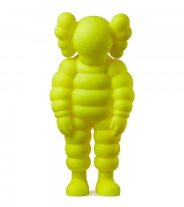 KAWS What Party Figure Yellow 28 см