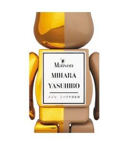Bearbrick Miharayasuhiro 100% & 400% Set Gold/Brown - Фото №2