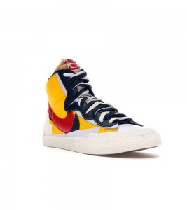 Кроссовки Nike Blazer Mid sacai Snow Beach - Фото №2