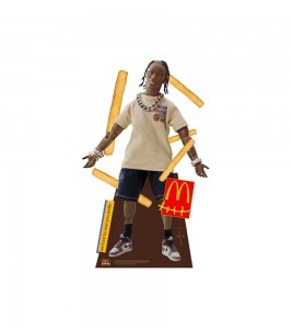 Ростовая фигура Travis Scott x McDonalds Action Figure Life-Size Cutout