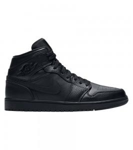 Кроссовки Air Jordan 1 Mid Triple Black