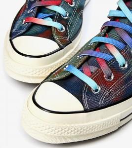 Кроссовки Converse Chuck 70 Hi Tie Dye Plaid - Фото №2