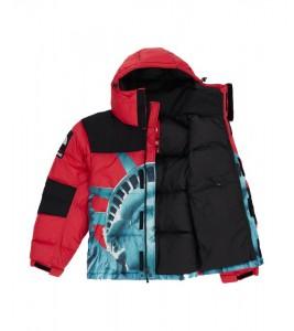 Куртка Supreme х The North Face Statue of Liberty Baltoro Jacket Red - Фото №2